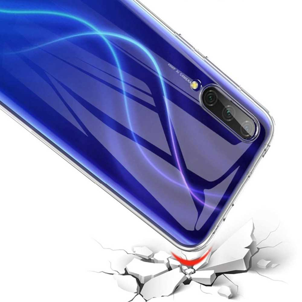 Transparent Soft TPU Phone Case for Xiaomi Mi 9 Lite / A3 Lite / CC9 (Transparent)