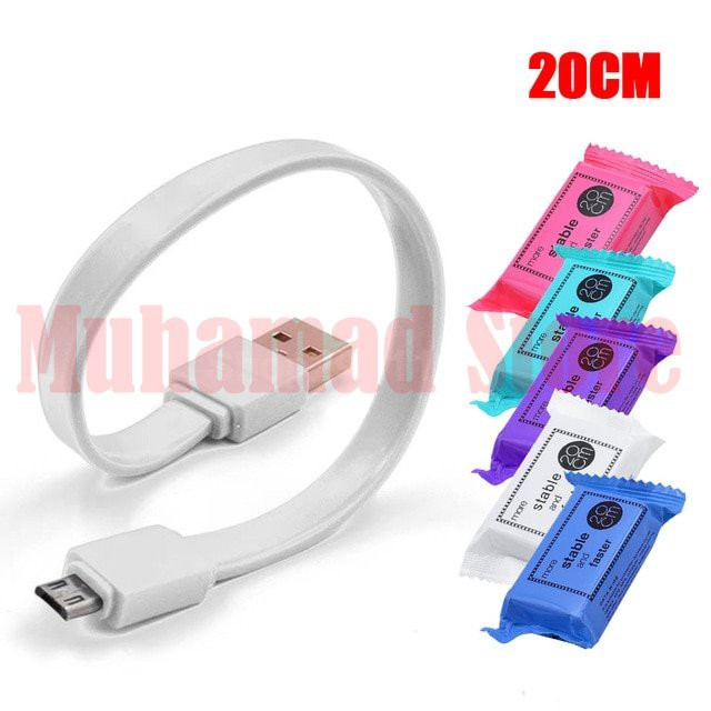 Sweet Colour Cable 20CM (Android & iphone)