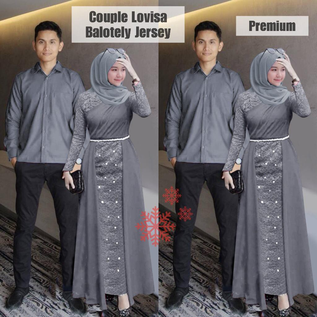 SET LOVISA COUPLE / COUPLE GAMIS / COUPLE GAMIS