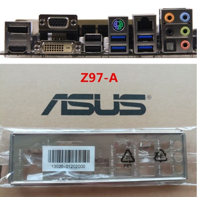 I//O Shield For backplate ASUS Z97-AR Motherboard Backplate IO