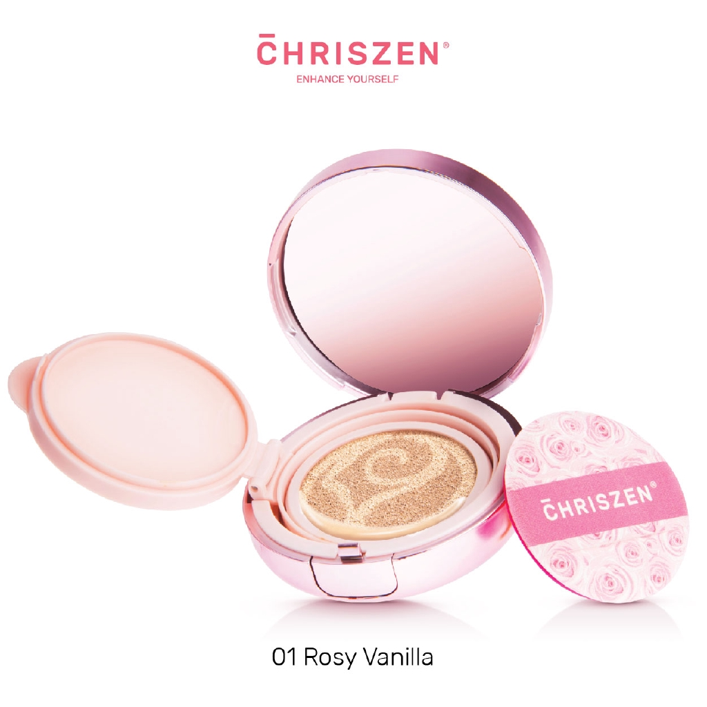 Chriszen Rosy Cushion Foundation Version 2 (20g)