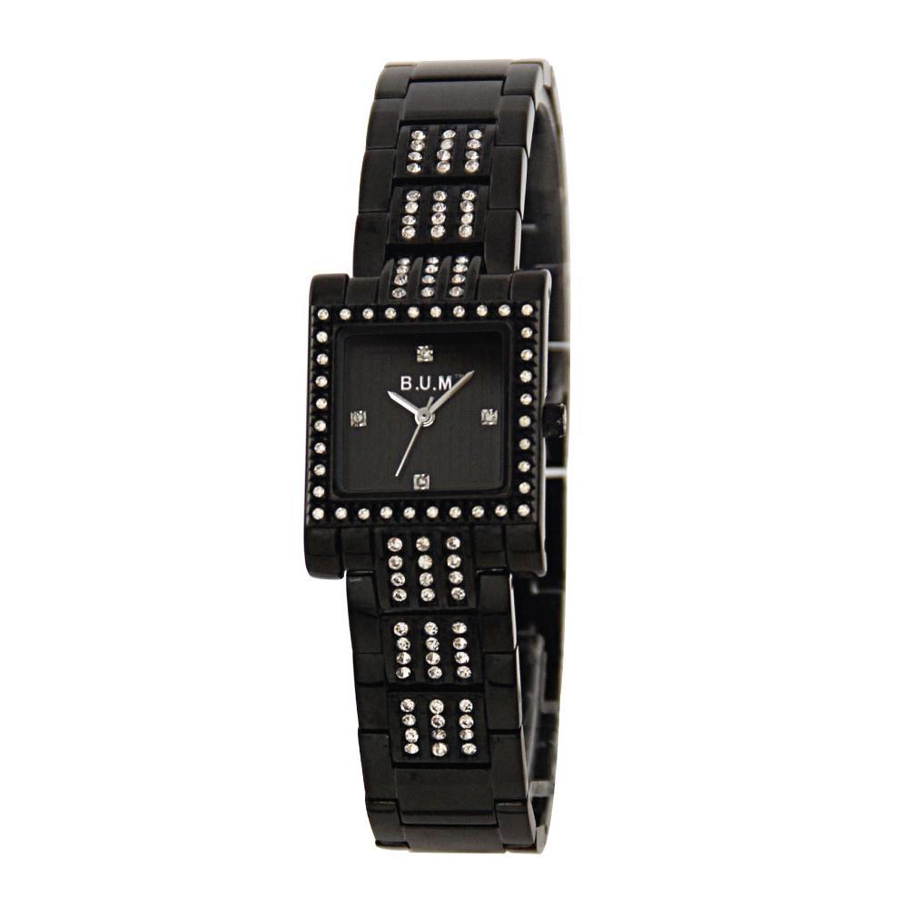 mode de premier ordre profiter de gros rabais pas cher ladies office OL casual business series B.U.M. Equipment B1016 black color  solid