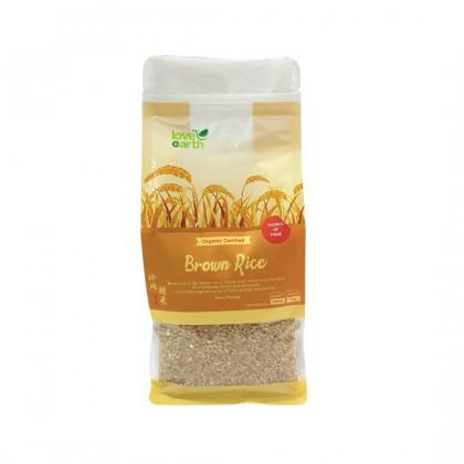 Love Earth Organic Brown Rice 1kg 乐儿有机珍珠糙米 1公斤 (袋装)