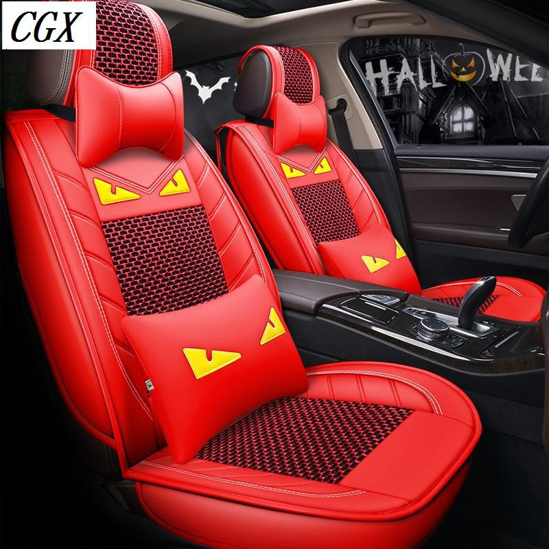 CAR SEAT COVERS fit Toyota Yaris red//black sport style full set