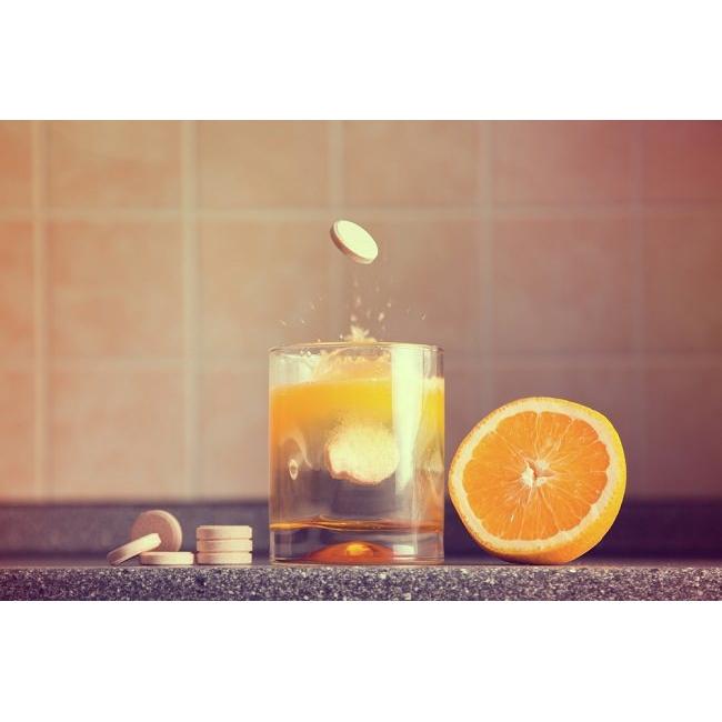 Redoxon Efferverscent Double Action Orange 30's
