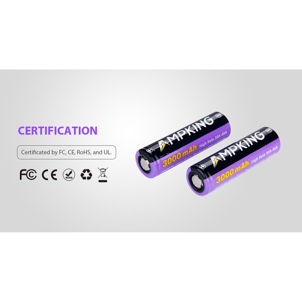 AMPKING 20700 Battery (BUY 2PCS FREE SILICONE CASE)   Shopee Malaysia