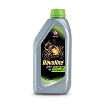 Caltex Havoline Ezy 4T 20W-40 1 Liter Motorcycle Oil
