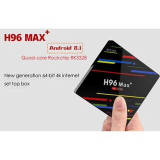 AKASO 4G 64G H96 MAX TV Box Android 7 1 RK3328 IPTV Android TV Boxes