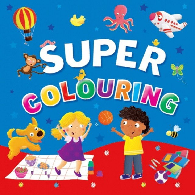 Super Colouring ISBN: 9780709722458