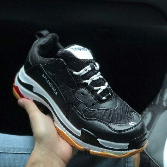 Women s Balenciaga Triple S Low Top Sneaker Size Pinterest