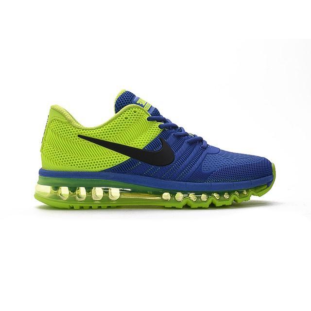 super popular fb27d f07e3 Nike Air Max 2017 Blue Green Men
