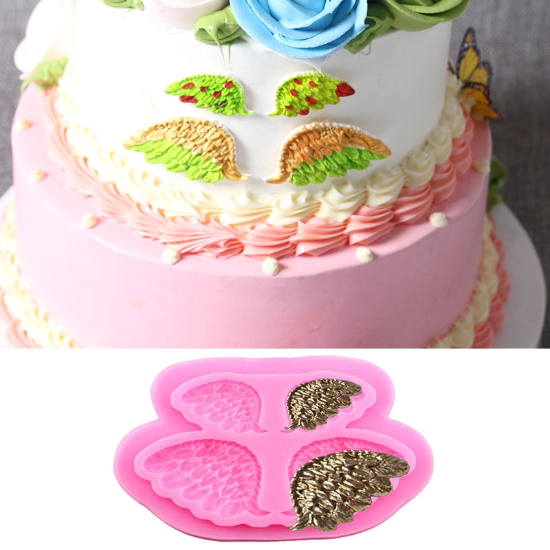 Flower Fairy Silicone Mould DIY Fondant Cake Decorating Soap Resin Chocolate DIY