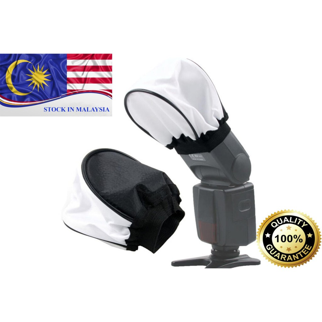 Cloth Universal Soft Bounce Flash Diffuser for DSLR Cameras (Ready Stock In Malaysia)