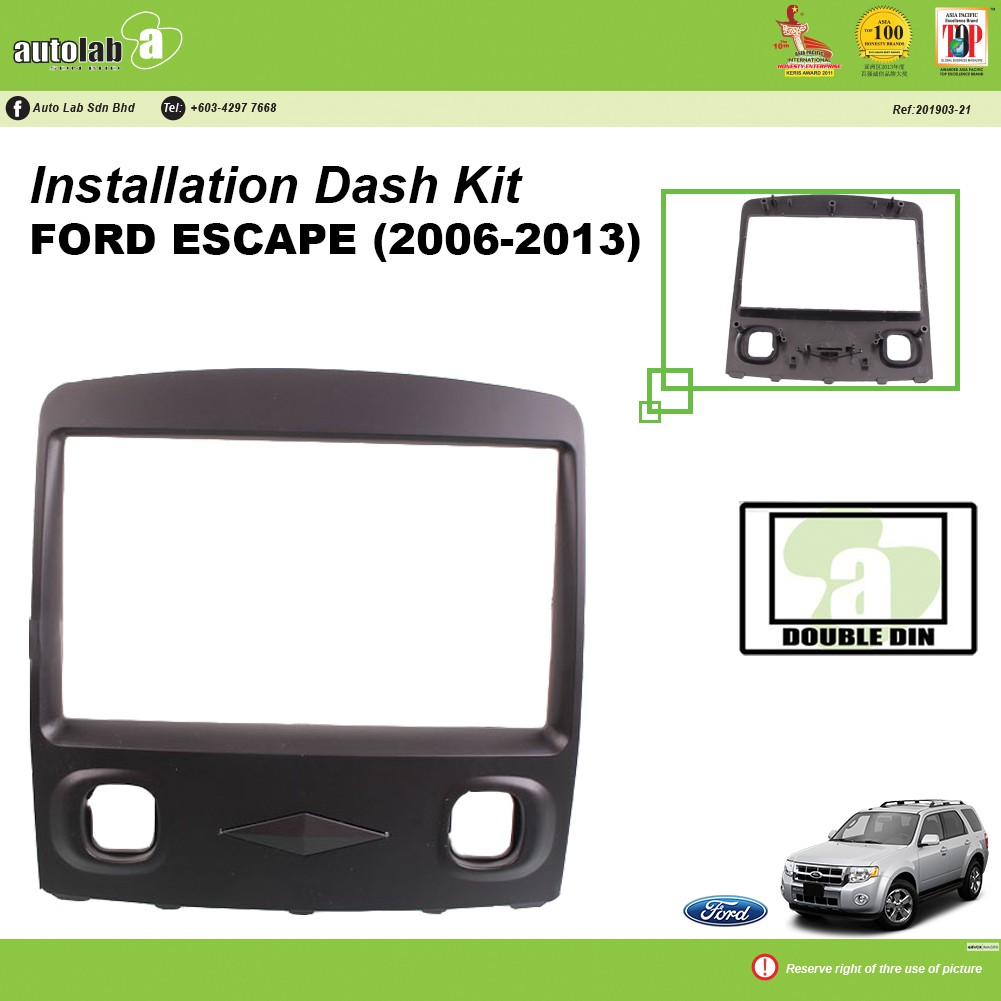 Player Casing Double Din Ford Espace (2006-2013)