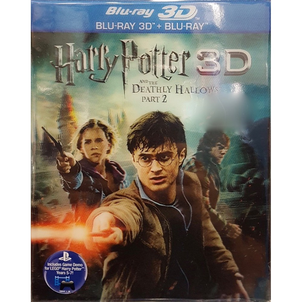 Harry Potter And The Deathly Hallows Part 2 2011 Bluray 3d Bluray Shopee Malaysia