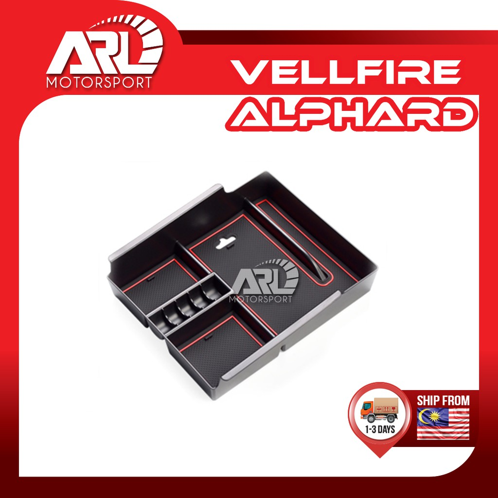 Toyota Alphard / Vellfire (2015-2020) AH30 AGH30 Coin Box / Center Storage Box Car Auto Acccessories ARL Motorsport