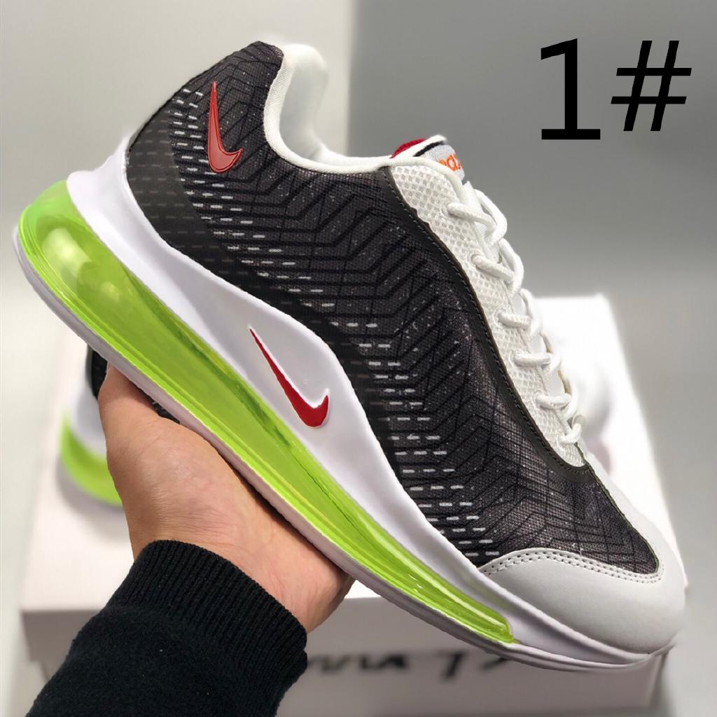 37f397c6822f3 Nike Air Men's Shoes Max 720 Series New Fabric Cushion Sneakers Running  Shoes   Shopee Malaysia