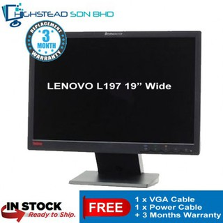 LENOVO THINKVISION L197 WIDE MONITOR TREIBER WINDOWS 7