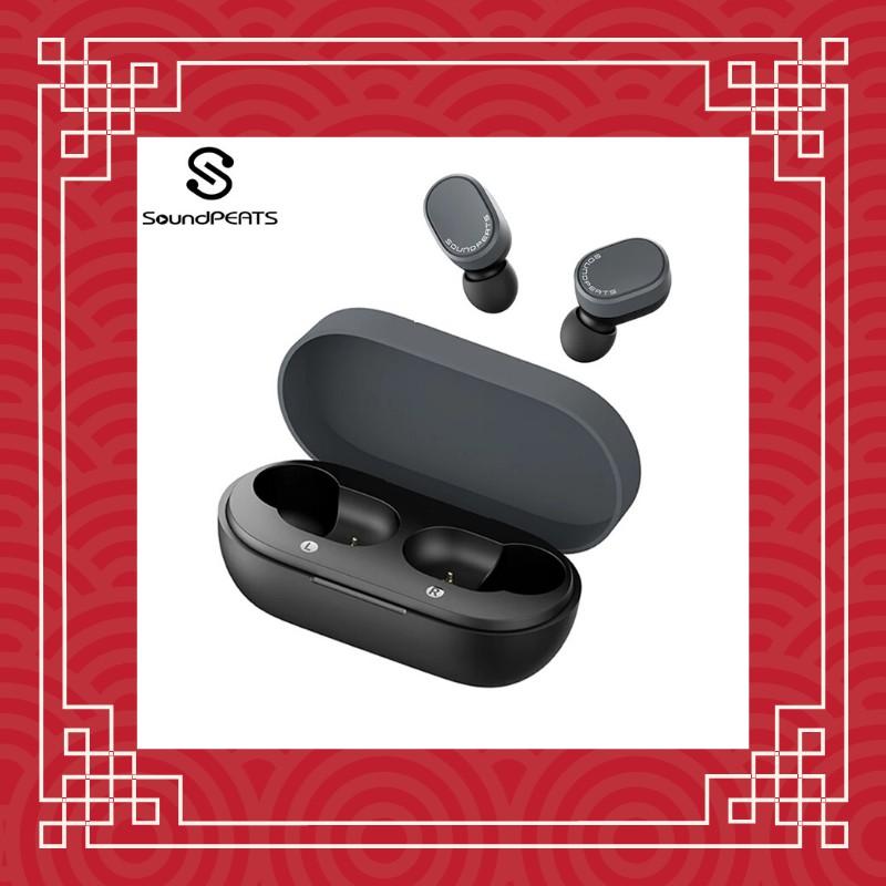 SoundPeats TrueDot Bluetooth 5.0 True Wireless Earbuds Touch Control Earphones Built-in Mic 7.2mm Enhanced Drivers IPX5