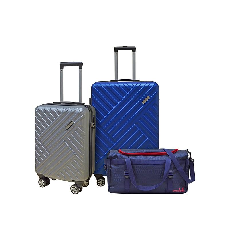 "Condotti Superlight PC/ABS Trolley Case  Set of 2 ( 19"" + 26"" )"