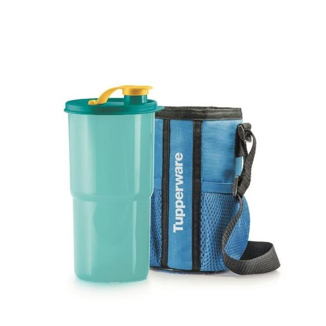Tupperware Tumbler with Pouch (1) 900ml
