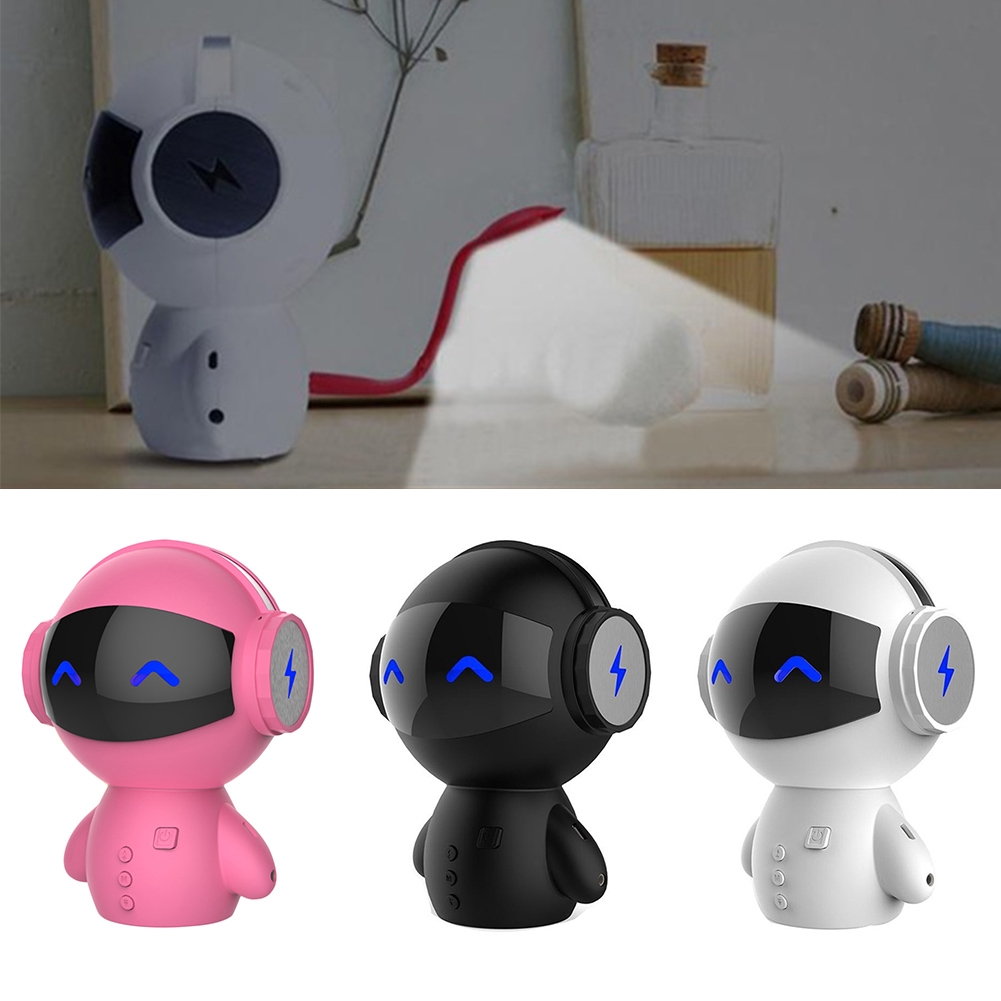 Indoor Bluetooth Speaker Cute Smart Wireless Mini Portable Robot Outdoor