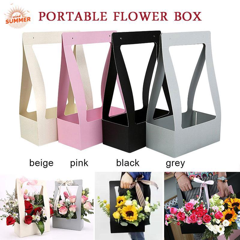Bouquet Flower Boxes Living Vases Florist Box Flower Plant Aqua Boxes Sweet Gift