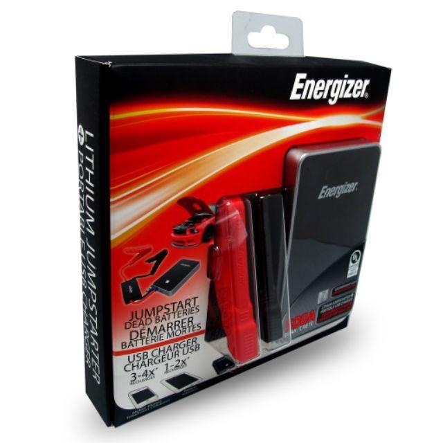 Energizer Power Bank Jump Starter ENX8K