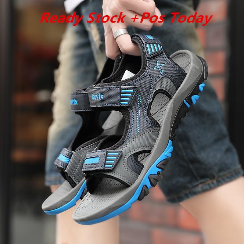 Ready Stock! Adidas Y3 sandals women men Korean Casual Beach Sandal kid  shoes  a10f0c29e