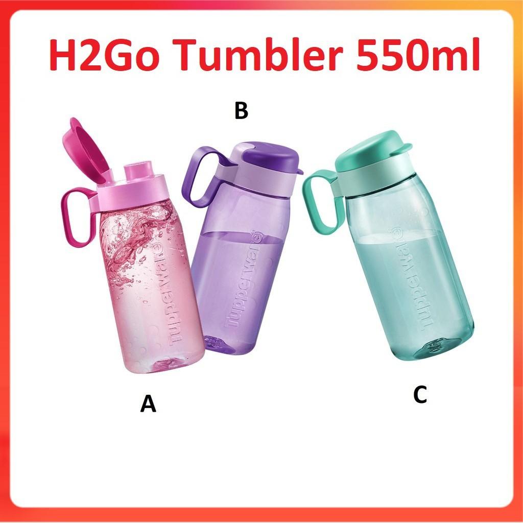 Tupperware H2Go Tumbler 550ml - Botol Air Tupperware - Bekas Minuman Air Tupperware  - Tupperware Tumbler -Tumbler 550ml