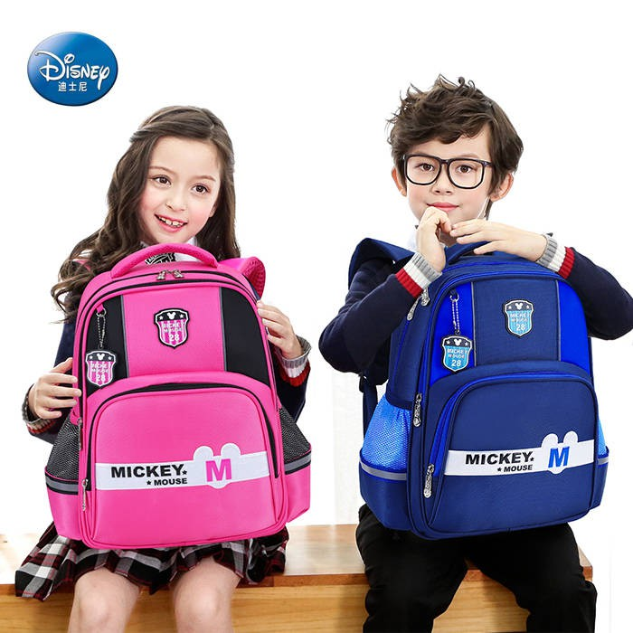 2019 Schoolbag primary school students 6-12 years old 1-6 grade boy backpack