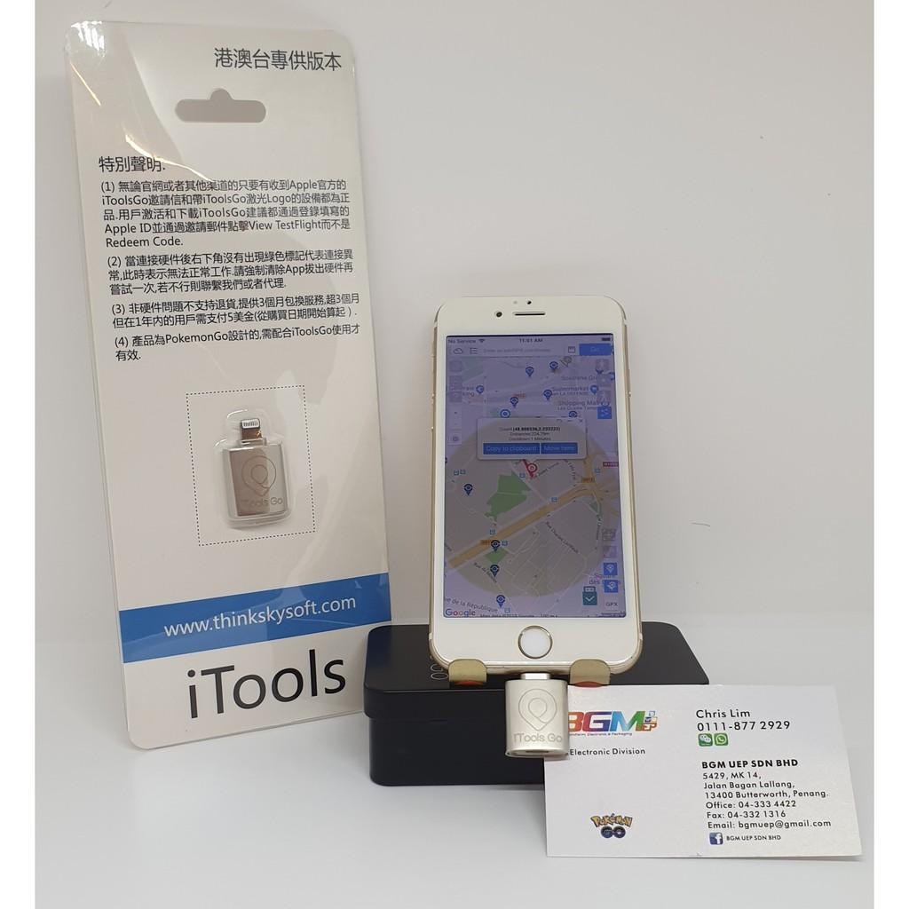 iTools Mobile For Spoof IOS (Pokemon Go, Jurrasic World Alive )