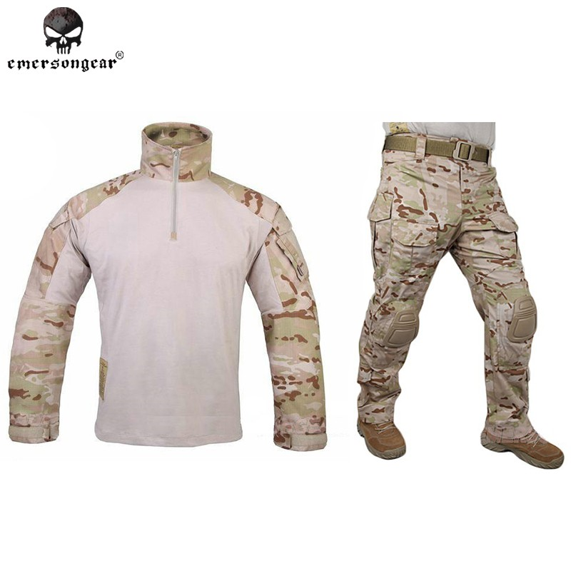ee5c3e7d06 Emerson G3 Combat Clothes Military BDU Army Tactical Gear Hunting Uniform  AOR2 | Shopee Malaysia