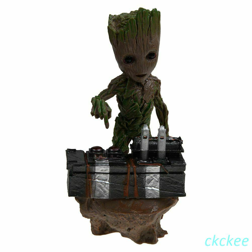 Action Figure Statue Vol.2 Guardians of the Galaxy Baby Groot Push Bomb Button