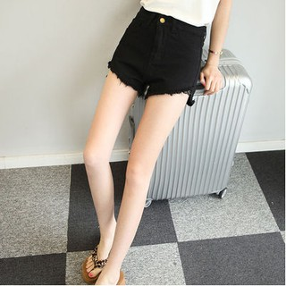 37cfbb1a8 S-5XL Denim shorts high waist female student casual shorts hot pants |  Shopee Malaysia