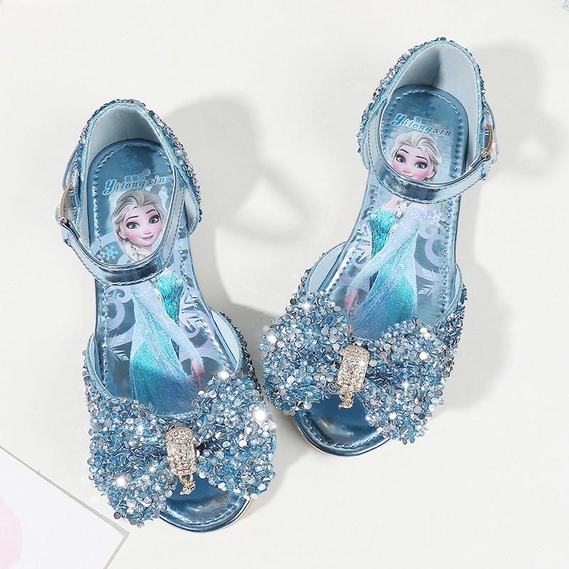 Aisha Ice Romance Cartoon Bow Princess Shoes