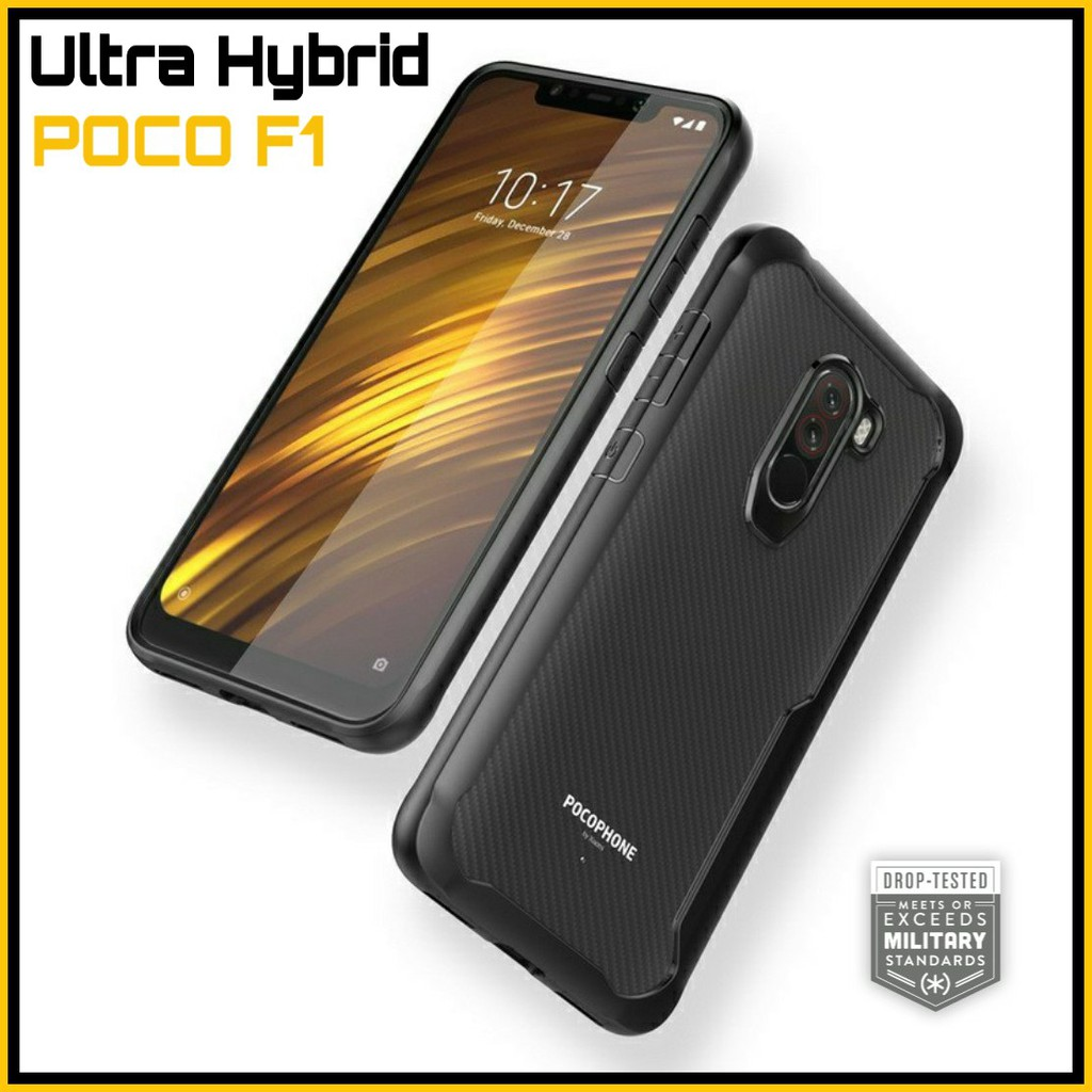 new arrival 08cd5 a1b9d Xiaomi Pocophone Poco F1 Ultra Hybrid Case【READY STOCK】