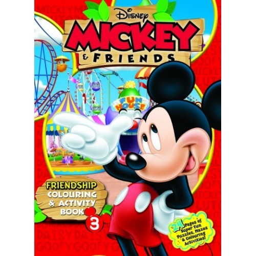 Disney Mickey & Friends: Friendship Colouring & Activity Book 3 (L176)