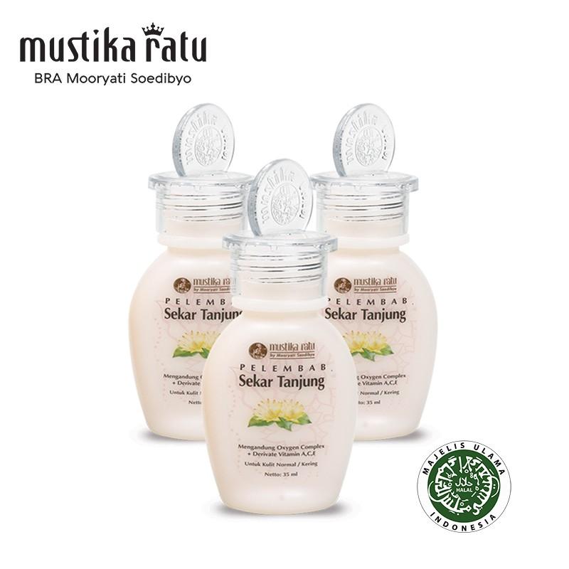Mustika Ratu Pelembab Sekar Tanjung for Normal to Dry Skin (kulit normal/kering) 35ml x 3 bottle