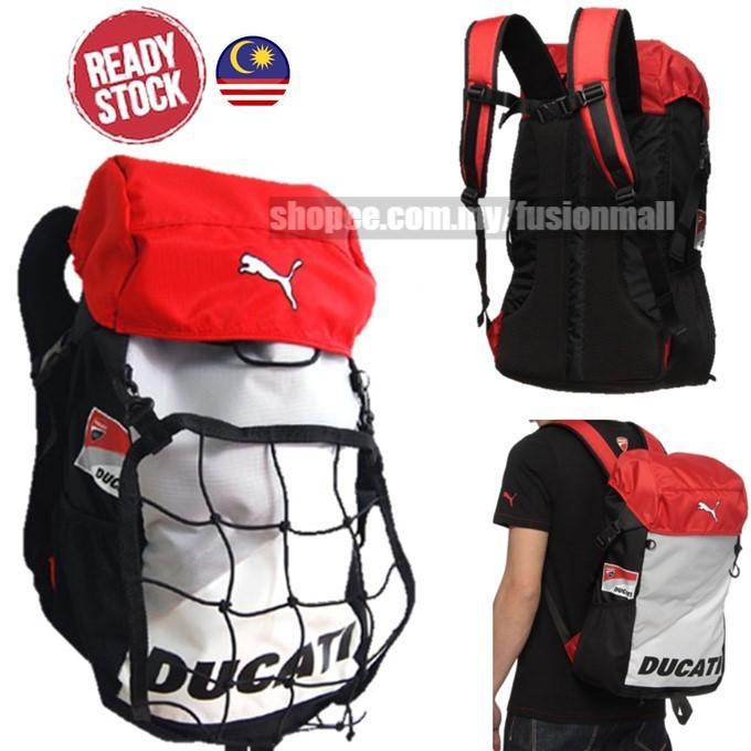 c48cc96157821 Puma Ducati backpack Ducati Motor Travelling bag Good quality ...