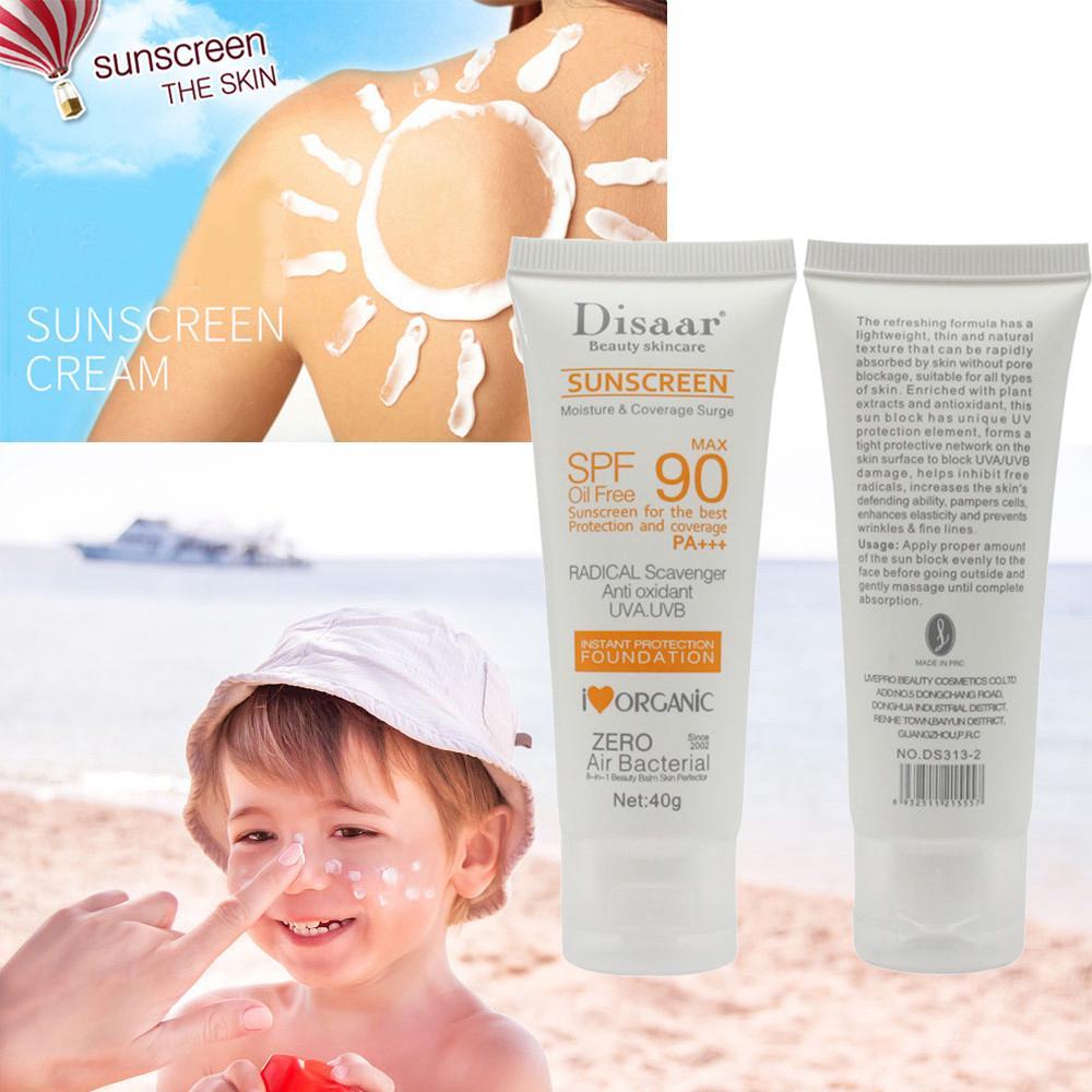 Skin care 40g Protecting SPF50+++ Sunscreen Long-lasting Waterproof