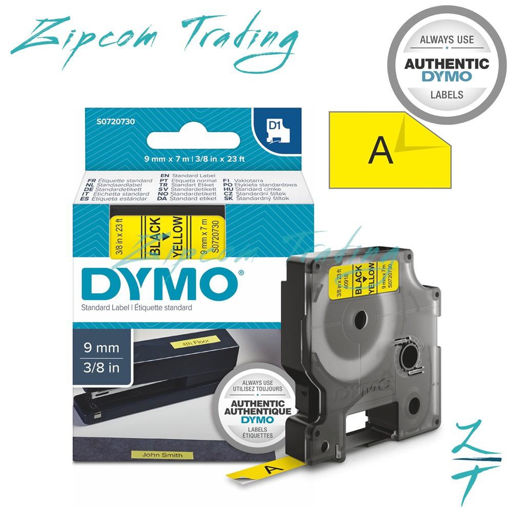 (ORIGINAL) DYMO D1 LABEL CASSETTES (6mm & 9mm)