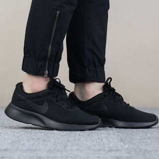 best service b1170 ae91b 100% original Nike nike roshe run sports casual light mesh breathable  running shoes all black