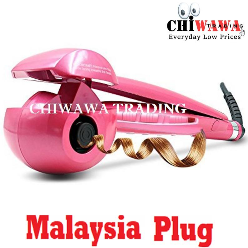 【Malaysia Plug】Auto Hair Curler Waver Roller Crimp Iron / Pengeriting Rambut
