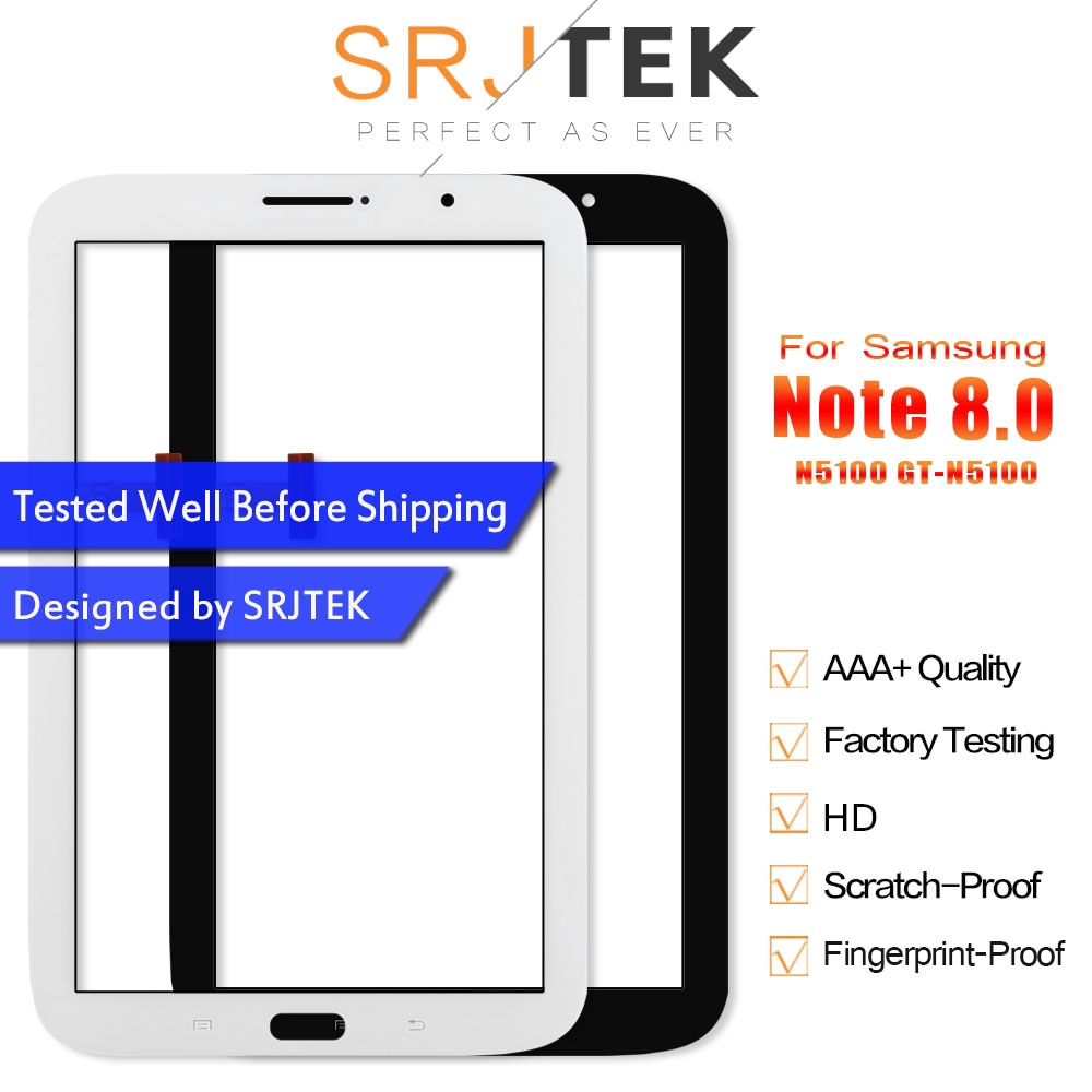 AAA For Samsung Galaxy Tab A 8.0 T387 SM-T387 Touch Screen Digitizer Glass Lens