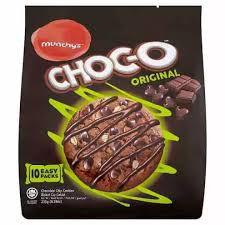 Munchy's Choc-O Original Chocolate Chip Cookies 10 x 23.5g (235g)