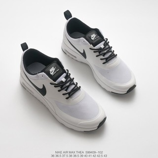 nike air max thea noir mesh trainers m and m