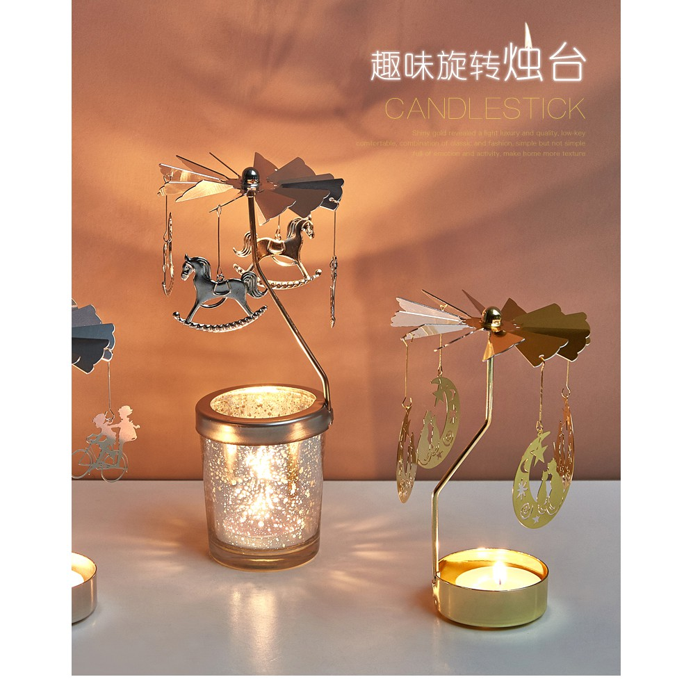 Wifehelper Candle Holder Crystal Coffee Table Decorative Centerpiece Candlestick for Wedding Birthday Parties Home Decoration