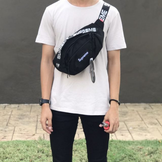 Supreme SS18 Waist Bag | Shopee Malaysia