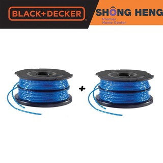 BLACK + DECKER A6441 2PCS Replacement Spool + Dual Line 2x6M